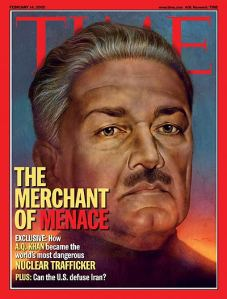 Merchant of Menace | Feb. 14, 2005 Time Magazine Cover Image.