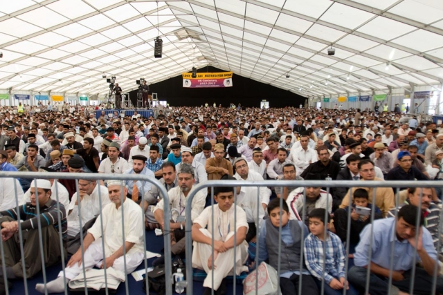 Thousands of Ahmadis gathered here to attend 47th Jalsa Salana UK