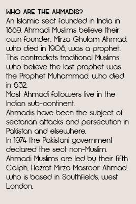 Who're Ahmadis