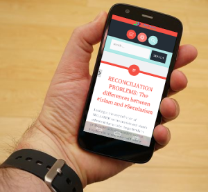 Noorforum App Running on Android Smartphone